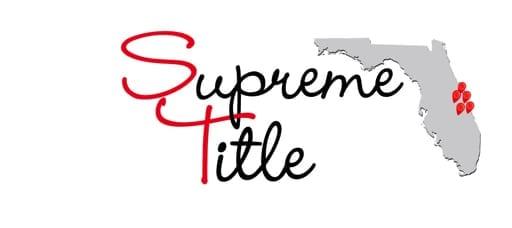 Title Company | Supreme Title