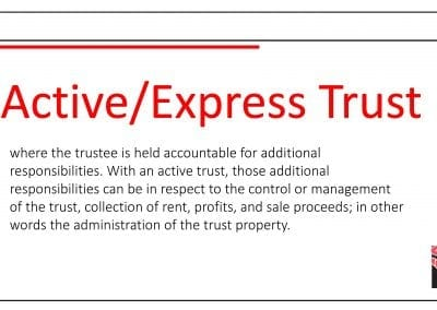 Active/Express Trust