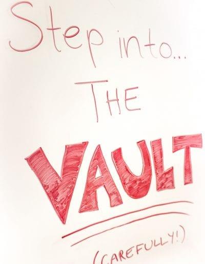 Vault sign