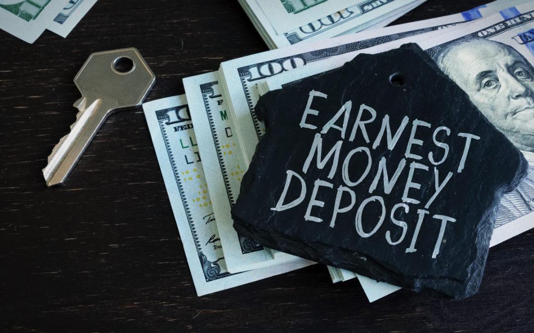 What is an earnest money deposit?